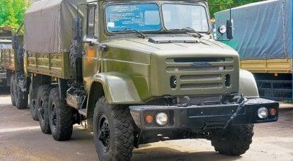 """Nonostante Oshkosh. """"Kalam-1"""": l'ultimo camion dell'esercito ZIL"""