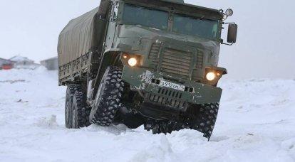 """""""Tornado-U"""": arttırılmış taşıma kapasitesine sahip ordu aracı"""