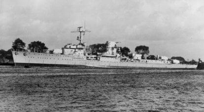 戦闘船。 巡洋艦。 「K」は「非常に悪い」を意味します