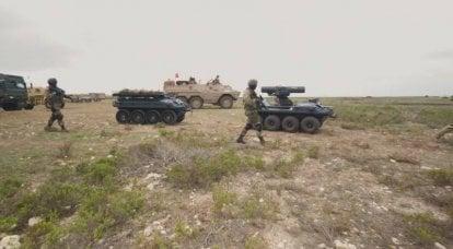 Roboterkomplex Rheinmetall Mission Master. Transport, Späher und Kämpfer auf derselben Plattform