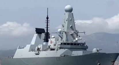 Sohu sobre el incidente con el destructor Defender: los británicos van a espiar el sistema de defensa ruso en Crimea