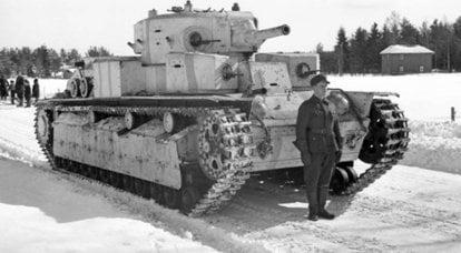 苏联坦克如何进入芬兰军队:关于T-28的故事