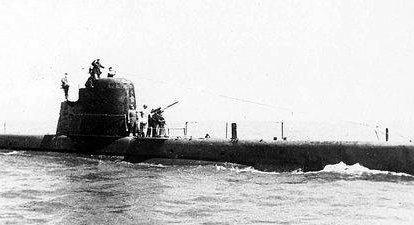 El comienzo de la guerra submarina en el Báltico.
