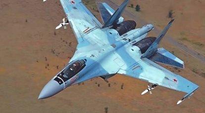 """据美国媒体报道,Su-30和Su-35战斗机将合并为一个""""超级侧翼"""""""