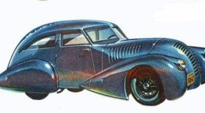 Auto sperimentale GAZ-A-Aero: ottimizzazione, velocità, redditività
