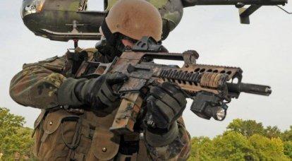 Kommбndo Spezialkrafte (KSK) - special forces division of Germany