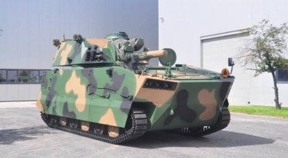 自走式迫撃砲M120GRak(ポーランド)の新バージョン