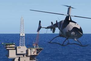 カイト:無人の家族からのヘリコプター