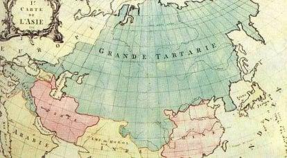 ロシアの大群と大タルタリーの謎