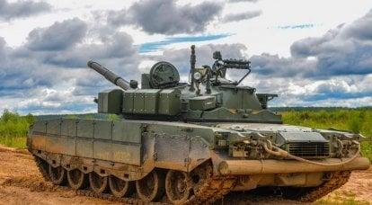 Le ZVO poursuit son réarmement avec des chars T-80BVM améliorés
