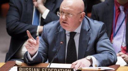 नेबेंज्या ने सुरक्षा परिषद को आश्वासन दिया कि कोई भी एसएआर में आतंकवादियों के साथ समारोह में खड़ा नहीं होगा
