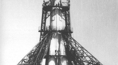 Bir erkek için uzaya açılan roket R-7, 55 yıldönümünü kutluyor
