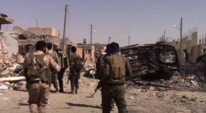 In Ostsyrien wurde ein Armeefahrzeug kurdischer Streitkräfte in Kontakt mit US-Truppen gesprengt