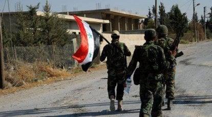 叙利亚军队的成功和美国虚伪的延续