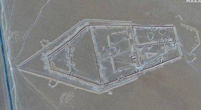 """Images publiées d'une construction à grande échelle de """"mercenaires russes"""" en Libye"""