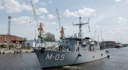 """""""Fase um concluída"""": Marinha da Letônia lança programa de modernização de navios de defesa contra minas"""
