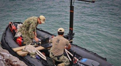 Evde olduğu gibi: Amerika Birleşik Devletleri, Odessa yakınlarındaki tekneler için bir üs hazırlıyor