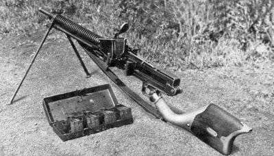 日本机枪型11动力夹
