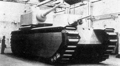 Superschwere Panzer Frankreichs: das Scheitern der Zwischenkriegszeit
