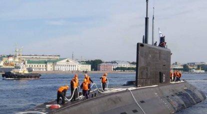 """Pasifik Filosu için ikinci """"Varshavyanka"""" Donanmasına kabul şartları"""