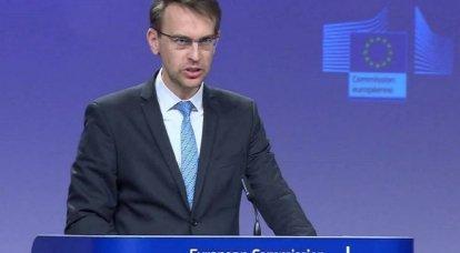 """यूरोपीय संघ रूस के """"अनुचित"""" प्रतिशोधी प्रतिबंधों को खारिज करता है"""