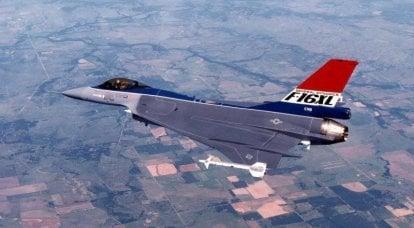 Velivolo esperto F-16XL