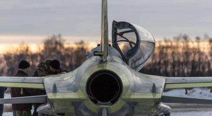 Oreshkovo 7 February 2016: Um protótipo da aeronave de treinamento leve CP-10
