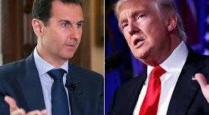 Tuer le président syrien? Les plans mortels de Trump