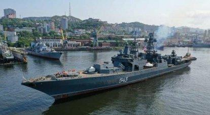 """Defective modernization of """"Marshal Shaposhnikov"""""""