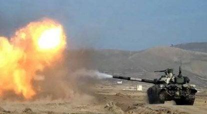卡拉巴赫冲突中的坦克