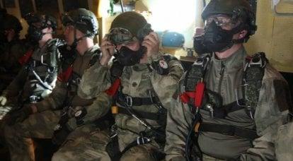 """""""Da sei chilometri"""": i paracadutisti russi hanno effettuato un atterraggio in alta quota"""
