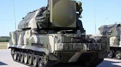 """分区自主式自行防空导弹系统"""" Tor"""""""
