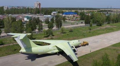 2021年に建造された最初のIl-76MD-90Aの飛行試験がウリヤノフスクで始まりました
