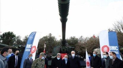 Um tanque experimental e novos motores. Sucessos e perspectivas de veículos blindados turcos
