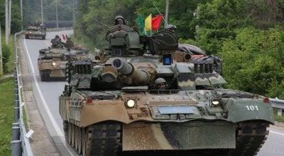 Güney Kore ordusunda Rus zırhlı araçlar