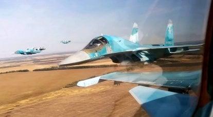 ロシアのSu-34爆撃機の戦闘能力が拡張されました