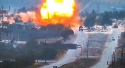 Suriye'de bir devriye konvoyunun bombalanması sonucu RF Silahlı Kuvvetlerinin üç askeri yaralandı