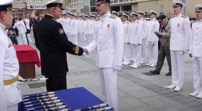 Devlet Duması emekli deniz subaylarına izinsiz ömür boyu hançer takma hakkı verdi