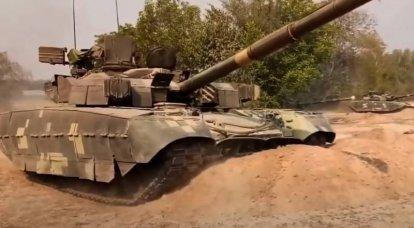 """Tanque ucraniano """"Oplot"""" enviado aos EUA: suspeita-se da presença de um componente de corrupção do contrato"""