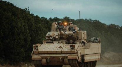 新しいM2ブラッドリーの改造が軍事試験に入った