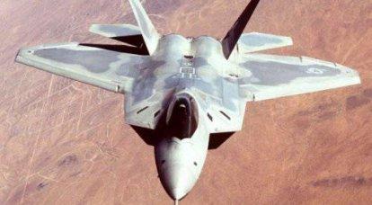 ペンタゴンの頭はF-22ラプター戦闘機の欠点について話しました