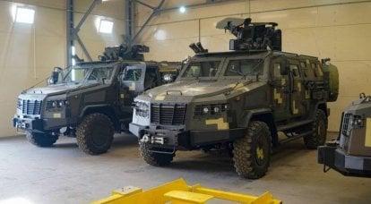 """I veicoli corazzati ucraini """"Kozak-2M1"""" saranno dotati di moduli di combattimento turchi"""