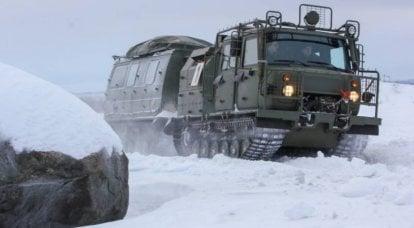 3344リンクの雪と沼地に行く車両GAZ-20-XNUMX「Aleut」:遠隔地のクロスカントリー能力の向上
