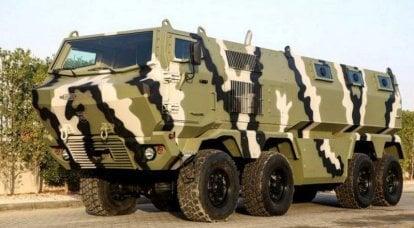 来自Streit Group和KrAZ的新装甲车