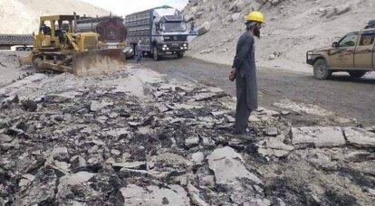Taliban start reconstruction of Salang pass tunnel