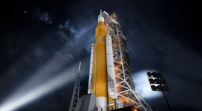 SLS Heavyweight. American astronauts rush to Mars. Part of 1