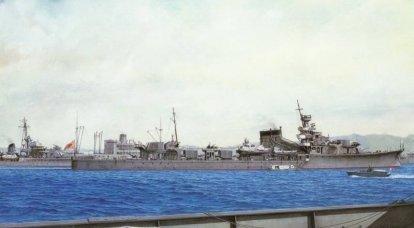 戦闘船。 巡洋艦。 奇妙な実験の良い結果