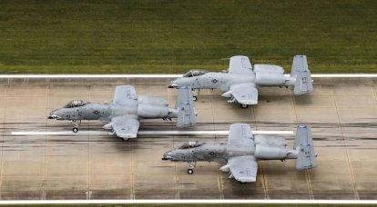 Das Angriffsflugzeug A-10C wird neuen Upgrades unterzogen