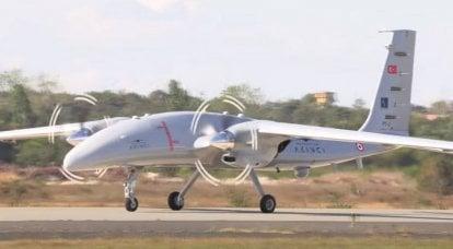 तुर्की-यूक्रेनी यूएवी अकिंज के दूसरे प्रोटोटाइप ने अपनी पहली उड़ान भरी