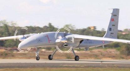 The second prototype of the Turkish-Ukrainian UAV Akinci made its first flight